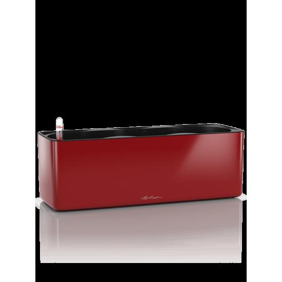 LECHUZA Cube glossy triple šarlátová červená