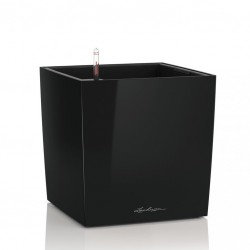 LECHUZA Cube collor black 40