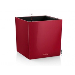 LECHUZA Cube collor red 30